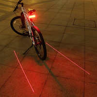 Rear Bike Light Taillight Safety Warning USB Rechargeable Bicycle Light Tail Lamp Comet LED Cycling Bicycle