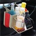 Multi-função organizador carro de volta assento suporte de copo caixa de armazenamento de suporte do telefone do carro ipad stand banco traseiro pendurado saco de armazenamento