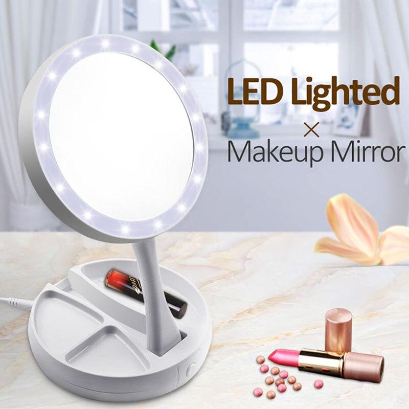 Spiegel 5x 10x Tragbare Make-up Spiegel Runde Kosmetik Werkzeug Vergrößerungs Bad Glatte Oberfläche Saugnapf Mini Platzsparende Einseitig Haut Pflege Werkzeuge