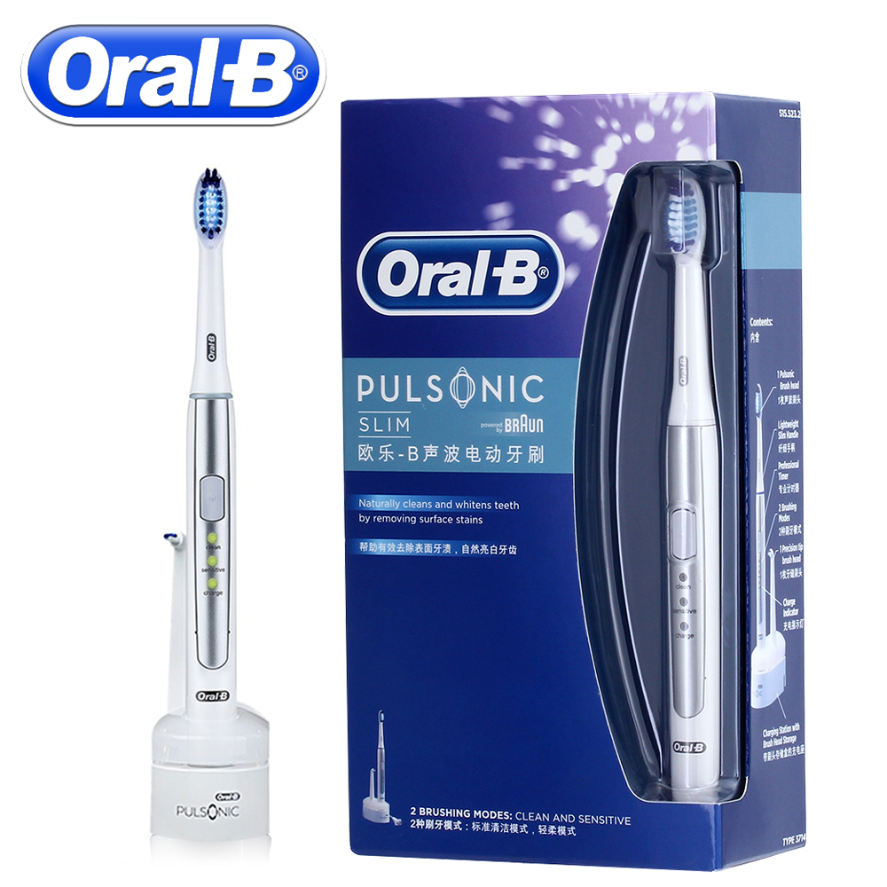 oral b electric toothbrush pulsonic sonic dental care braun electric tooth brush rechargeable. Black Bedroom Furniture Sets. Home Design Ideas