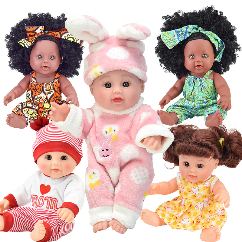 12inch! boneca bebe baby doll reborn black oyuncak lol gudetama girl silicone Soft Vinyl lalka Lifelike Alive toy Birthday gift