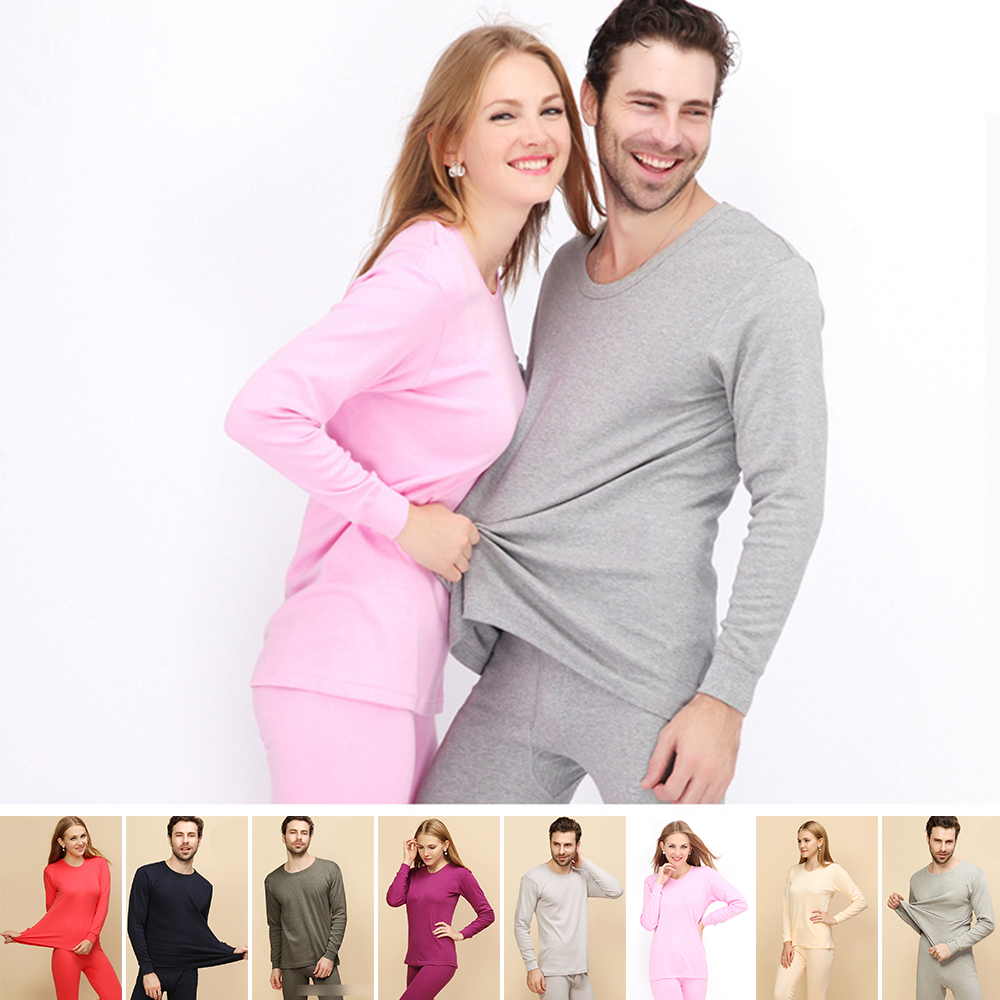 Long Johns For Couples Men Women Winter Warm Thermal Underwear Suit Thick Modal Ladies Thermal Underwear Female Male Clothing