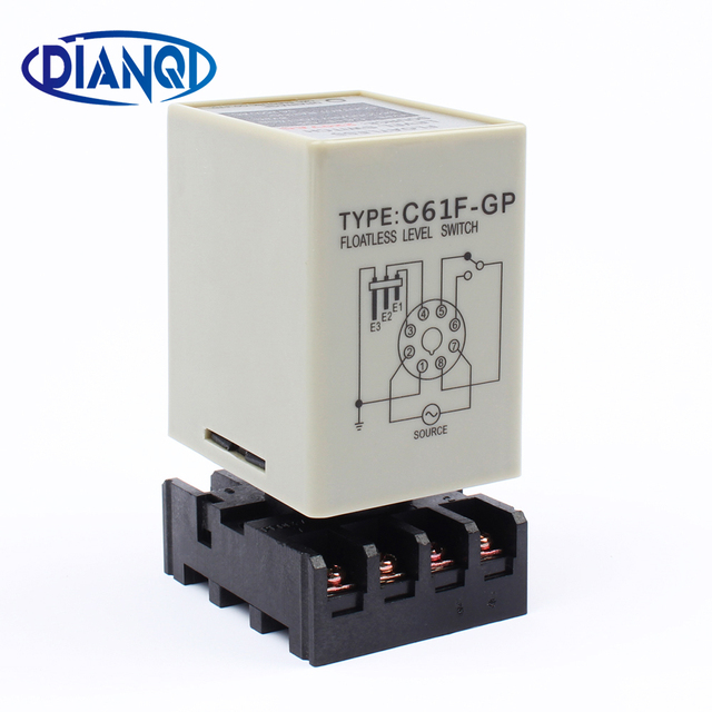c61f-gp level relay c61f - gp water level controller switch pump  automatically switches with