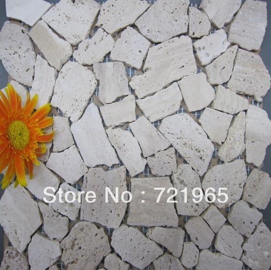 3d Mosaic Tile Backsplash Stone Mosaic Floor Tiles Stmt045 Cobble