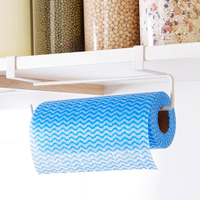 Practical Kitchen Toilet Paper Towel Rack Paper Towel Roll Holder Cabinet Hanging Shelf Organizer Bathroom Kitchen