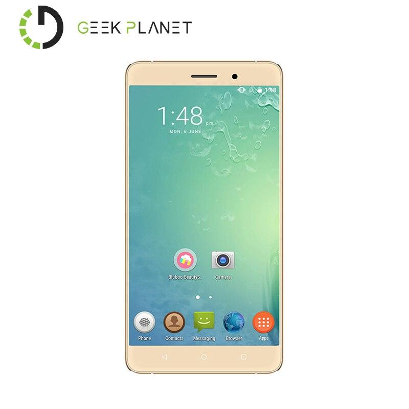 Цена за Оригинальные Bluboo Майя Мобильного Телефона MTK6580 Quad Core 5.5 Дюймов Экран 2 ГБ RAM 16 ГБ ROM Android 6.0 Мобильный Телефон 3 Г Смартфон