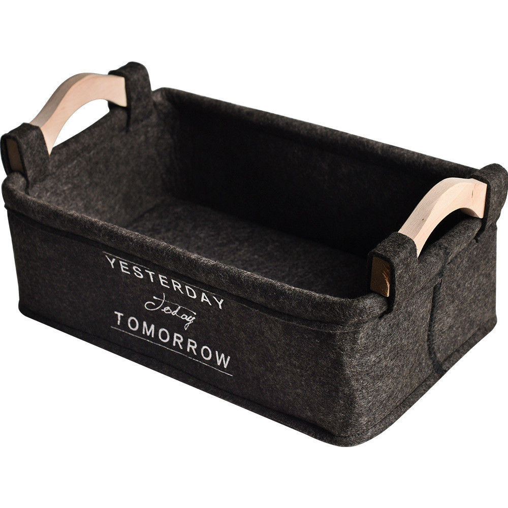 Nordic Yesterday, Today, Tomorrow Storage Basket with Handles Best Children's Lighting & Home Decor Online Store