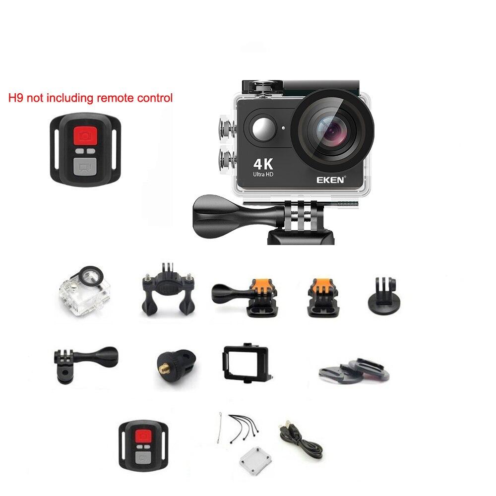Caméra d'action 100% EKEN H9/H9R Ultra HD 4 K WiFi 1080 P/60fps 2.0 LCD 170D casque étanche caméra sport pro - 3