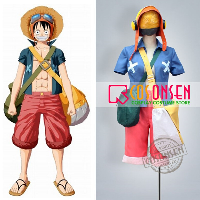 COSPLAYONSEN Anime One Piece Movie Strong World Luffy