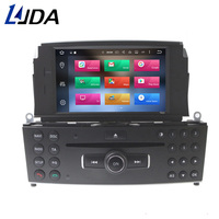 LJDA 1 Din Android 8.0 Car DVD Player For Mercedes Benz C200 C180 W204 2007 2008 2009 2010 Gps Radio 32G+4G Octa Core Multimedia