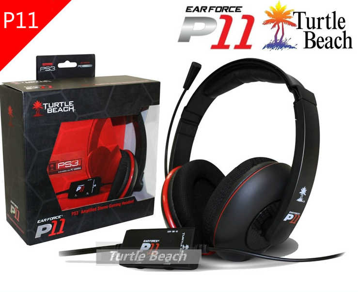 ba61ab666e5 Excellent Gaming Headphones Turtle Beach P11 Headset Gaming Headphone with  Microphone Physics 5.1 for PC Computer