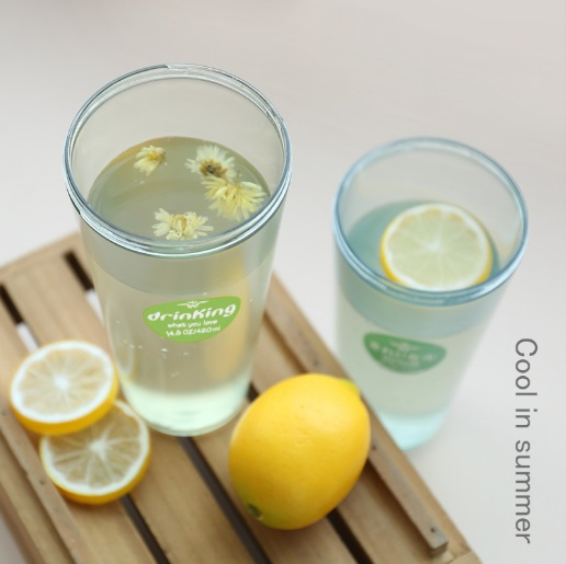 4 colores 550 ml botella de agua de la mejor calidad de mi botella de jugo de li