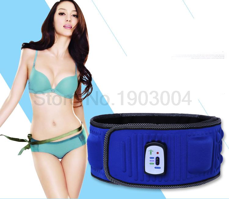 Electric Slimming Belt Vibration X5 massage thin waist belly Rejection Fat Body sculpting Adjustable intensity Lazy Diet way