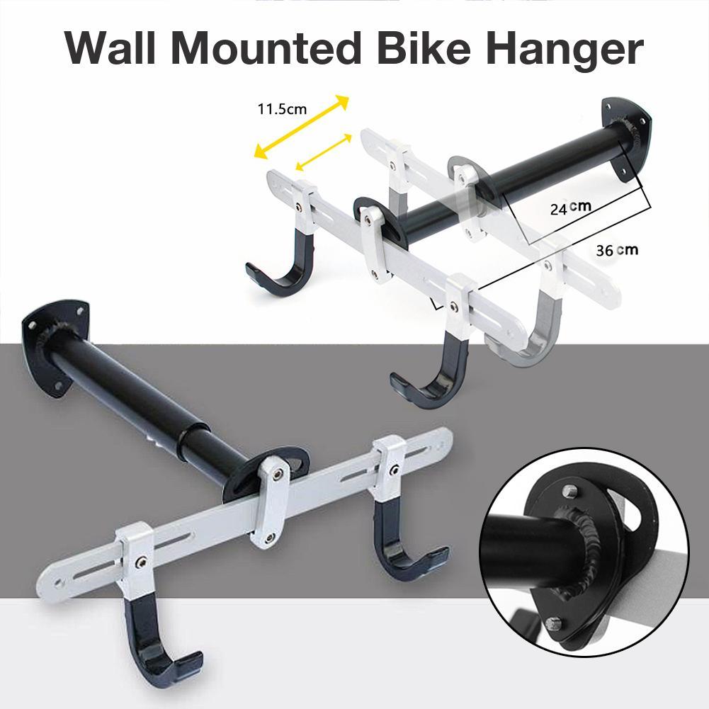 Porte-vélo Garage mural vélo cintre système de rangement crochet Vertical facilement accrocher Balance vélo réglable remorque cadre