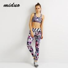 Women Yoga Sets Shirts + Sport Suit For Female Fitness Clothing Women's Gym Sports Running Slim Leggings + Tops
