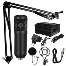Professionele Microfone Bm 800 Karaoke Microfoon Condensator Microfoon Kits Bundel Microfoon Voor Computer Studio Recording