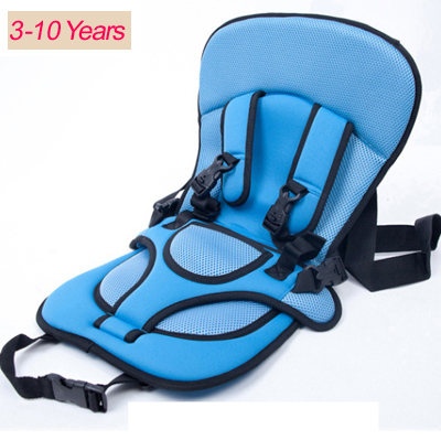 0 10 years old plus size baby portable car safety seat kids car seat 36kg