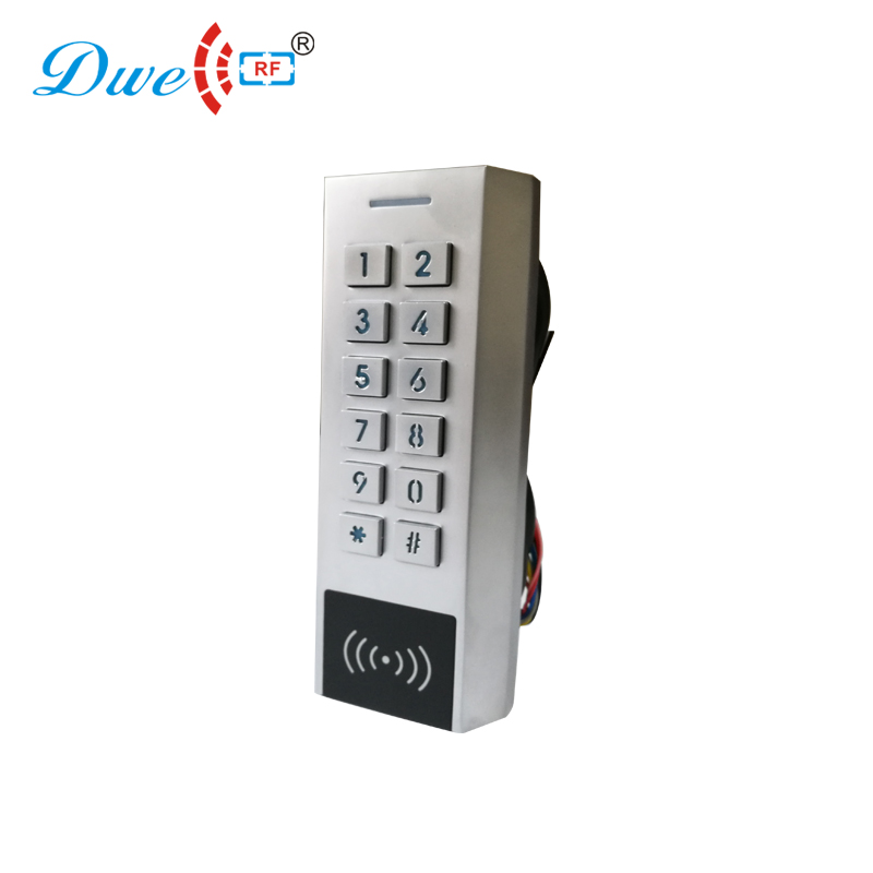 DWE CC RF access control 125khz 1000users waterproof outdoor keypad rfid wide voltage controller                                DWE CC RF access control 125khz 1000users waterproof outdoor keypad rfid wide voltage controller