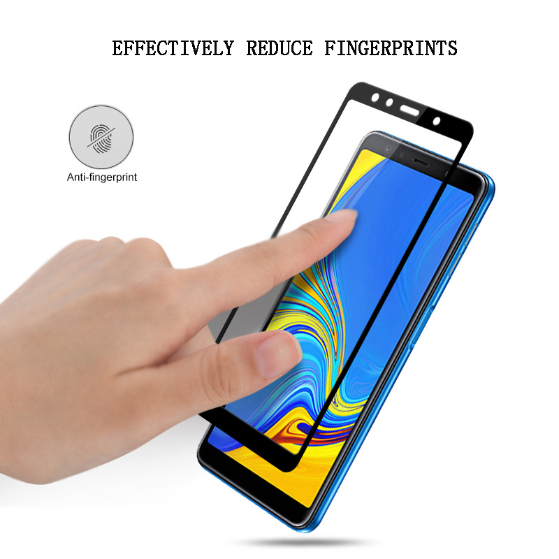 Nicotd New 9D For Samsung A8 A7 A9 J8 2018 Tempered Glass For Samsung Galaxy A6 Plus J6 A7 A9 J2 Pro 2018 Screen Protector Film (5)
