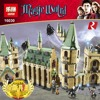Lepin 16030 1340Pcs Creative Movies Series The Hogwarts Castle Set Children Educational Building Blocks Bricks Toys