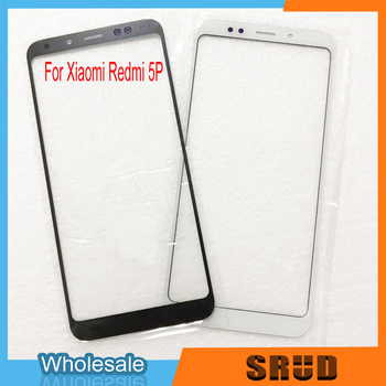 50Pcs LCD Front Outer Screen Glass Lens Replacement Touch Screen For XiaoMi Redmi 5 Plus Repair Part