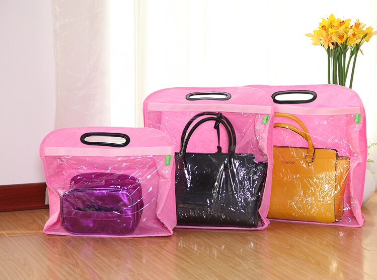 Non Woven Handbag Dust Proof Covers Wardrobe Wall Hanging Bags Storage In From Home Garden On Aliexpress Alibaba