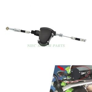 Image 2 - CNC Universal Stunt Kupplung Einfach Pull Kabel System Motorräder Dirt Bike Für Honda Yamaha Suzuki Kawasaki Ducati Triumph