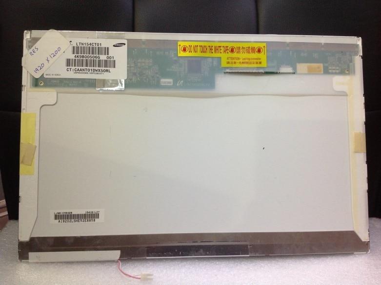 LAPTOP LCD screen 15.4 inch fit LTN154CT01 Original spot NUMBER 1920X1200 high score perfect A+ screen