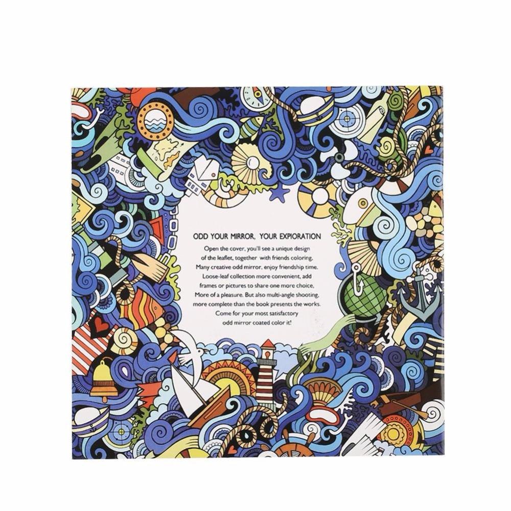 Coloring book untuk dewasa - 4 Pcs Inggris Buku Mewarnai Buku Lukisan Menggambar Buku Hadiah Untuk Anak Anak Anak