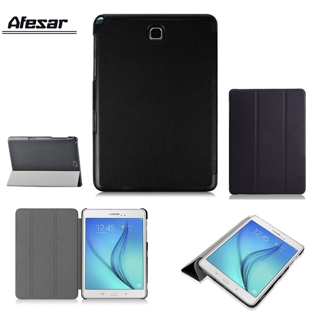 SM-T350 T355C Smart Cover Case Ultra Slim stand Pouch for Samsung Galaxy Tab A 8 P350 P355C leather case with magnetic closured