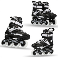 ROSELLE RS3 Advanced Inline Skates Shoes For FSK Slalom Daily Street Brush With 85A Durable Skating Wheel and Thicker Frame Base