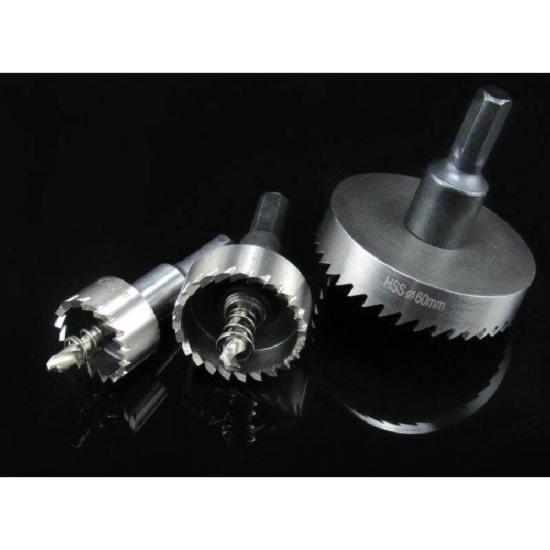 40-50mm HSS BI-METAL Power Tool Accessories Teeth Drill Hole Out Wood Metal Pipe Aluminum Alloy Reamer Bit Hole Dilating Drill 2 1 2 multi tool bi metal wood