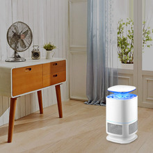 Mosquito Killer Lamp Light LED Trap Suction Type Zapper Safe For Home Garden Room JA55