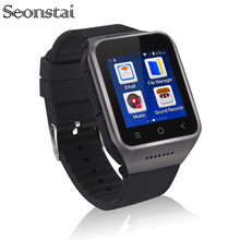 ZGPAX S8 Android 4 4 Dual Core Gear Smart Watch Phone 1 54inch LG Multipoint Touch