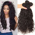 Brazilian Water Wave Curly Hair Natural Weave 8A Unprocessed Virgin Brazilian Water Wave Wet And Wavy Human Hair Vip Beauty Hair