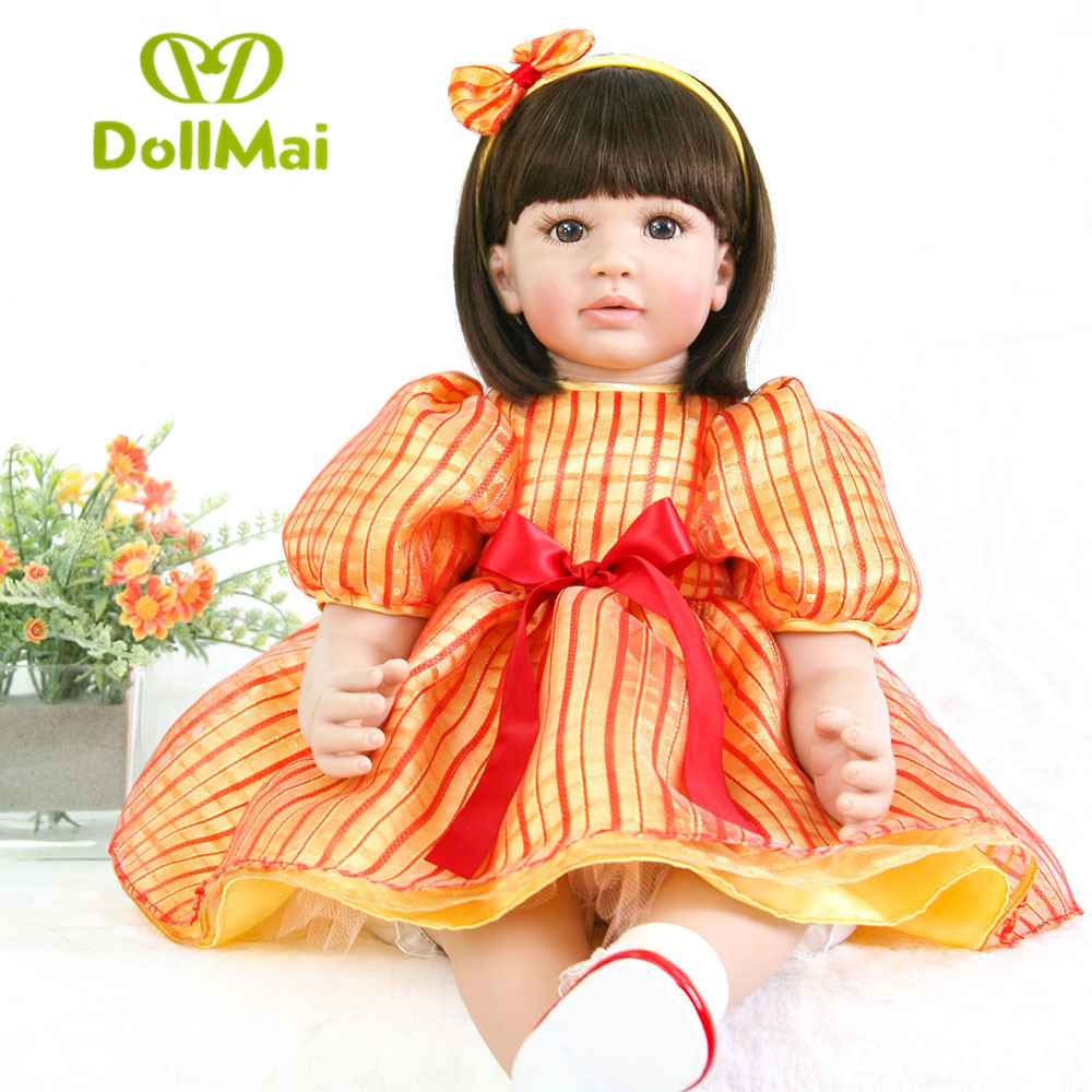 24/60 cm bebe bonecas reborn Silicone baby dolls real alive Princess Girl babyDoll Toys for Children adorable DollMai doll 24/60 cm bebe bonecas reborn Silicone baby dolls real alive Princess Girl babyDoll Toys for Children adorable DollMai doll