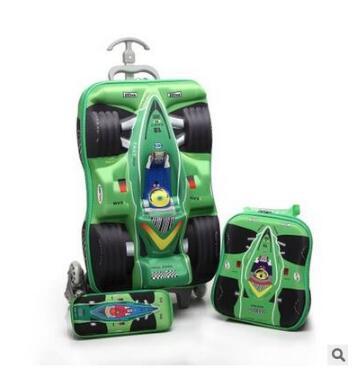 Mochila de Rodinhas Infantil Personalizada 3D + Lancheira + Estojo 2