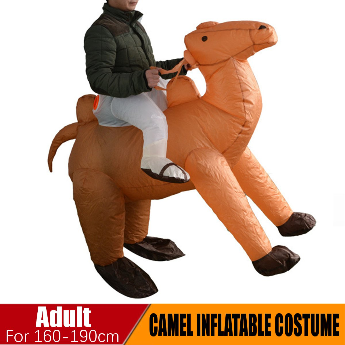 Inflatable Adults Camel Costume Blow Up Fancy Party Dress Outfit Funny Cosplay For Woman Man Adult Kids Animal Cosplay Carnival