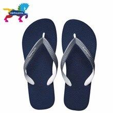 Hotmarzz Mode Sandalen Sommer Designer Flip Flops Marke Strand Gummi Rutschen Haus Schuhe Hause Hausschuhe Männer