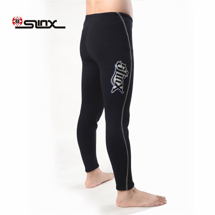 Slinx 1309 3 мм неопреновое оборудование для ныряний длинные брюки штаны для подводного плавания гидрокостюм низ мужские зимние плавки утолщенные сохраняющие тепло - 2