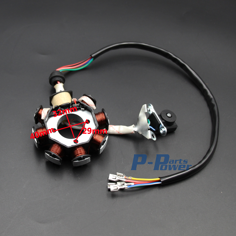 complete electrics atv quad 150cc 200cc 250cc 300cc 3 holes stator cdi coil wire harness zongshen lifan new in motorbike ingition from automobiles  [ 1000 x 1000 Pixel ]