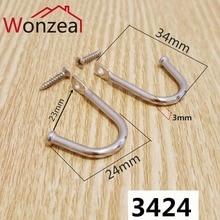 Iron-Hooks Handbag-Holder Wall-Hangers Hardware Furniture Hanging Towel for Kitchen 20pcs/Lot