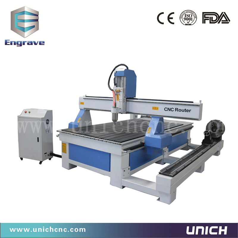 Machine de gravure sur bois professionnelle 1200*2400mm