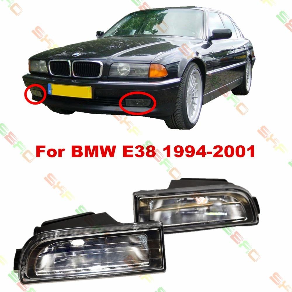 Для BMW Е38 1994/95/96/97/98/99/2000/01 стайлинга автомобилей противотуманные фары 1 комплект противотуманных фар