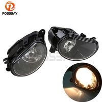 POSSBAY High Quality Auto Car Front Fog Light Driving Lamps With Bulb For Audi Q7 Typ 4L 2007 2008 2009