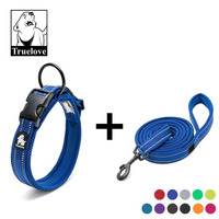 Truelove 3M Reflective Dog Pet Collar and Leash Set Adjustable Collars Leads for pet shop and dropshipping