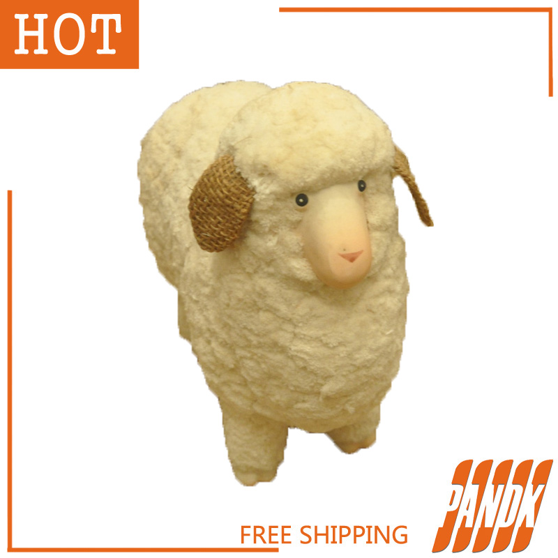furry sheep halloween sheep haunted house chamber halloween decorations table decorations halloween props sheep free shipping in event party from home