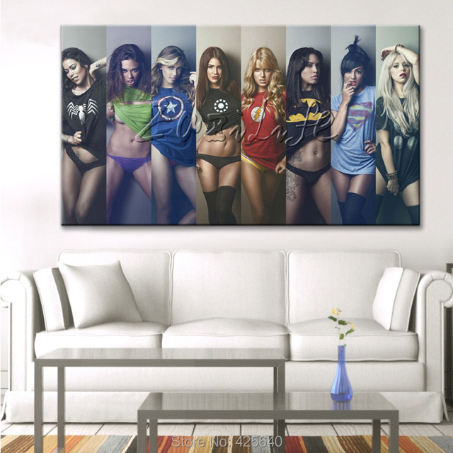 Beautiful Comics Marvel Avengers Super Heroes Poster And Print Of Wall Art Pictures  For Living Room Home