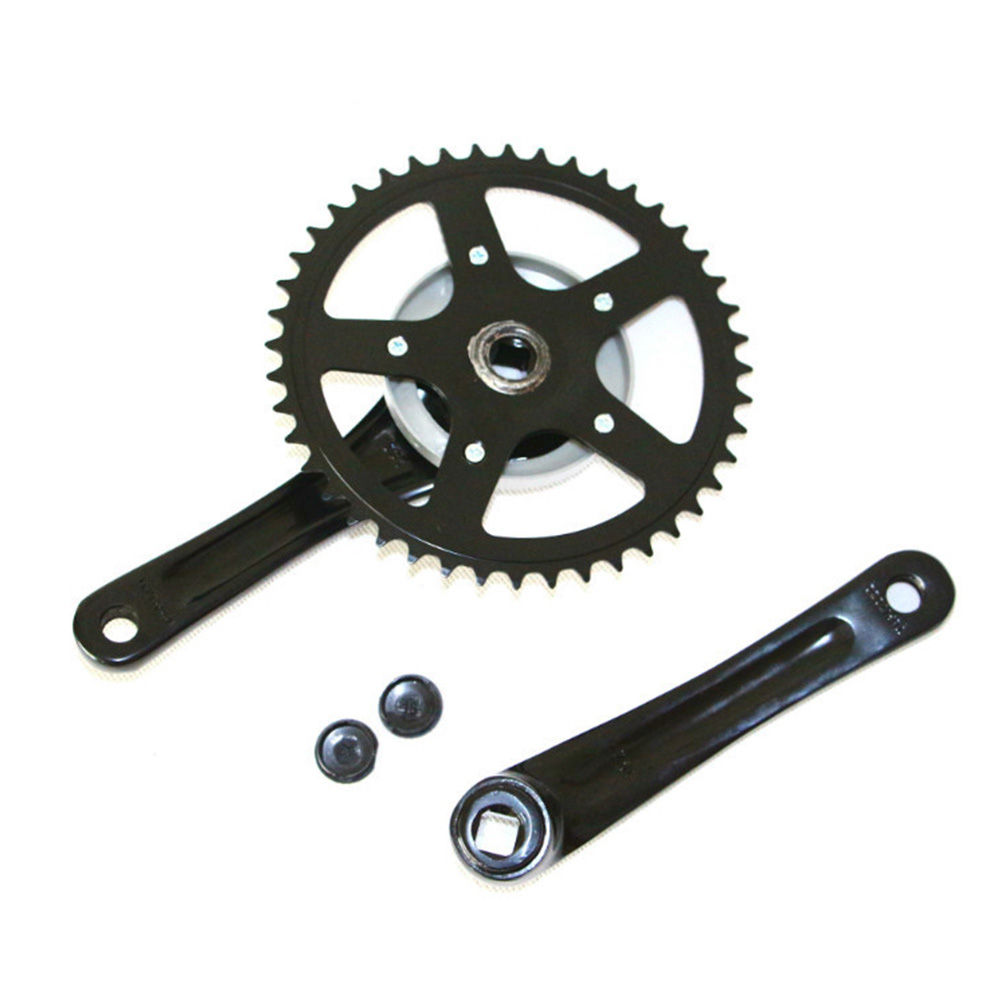 Bmx Parts Us 33 92 13 Off 170mm Crankset Black Mtb Crank Bike Parts Bielas Mtb Bmx Parts Fiets Onderdelen 38t Mountain Bike Bisiklet Ricambi X Bici Crank In