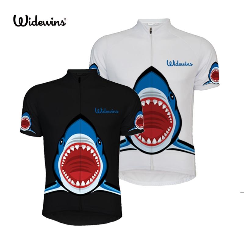 Shark Cycling Jersey Short Sleeve Top Cycle Clothing MTB Road Bike Bicycle Short Bike Cycle Wear Sports Sleeve Shirt Wear 5269